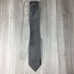 Stafford Gray Silk Patterned Tie